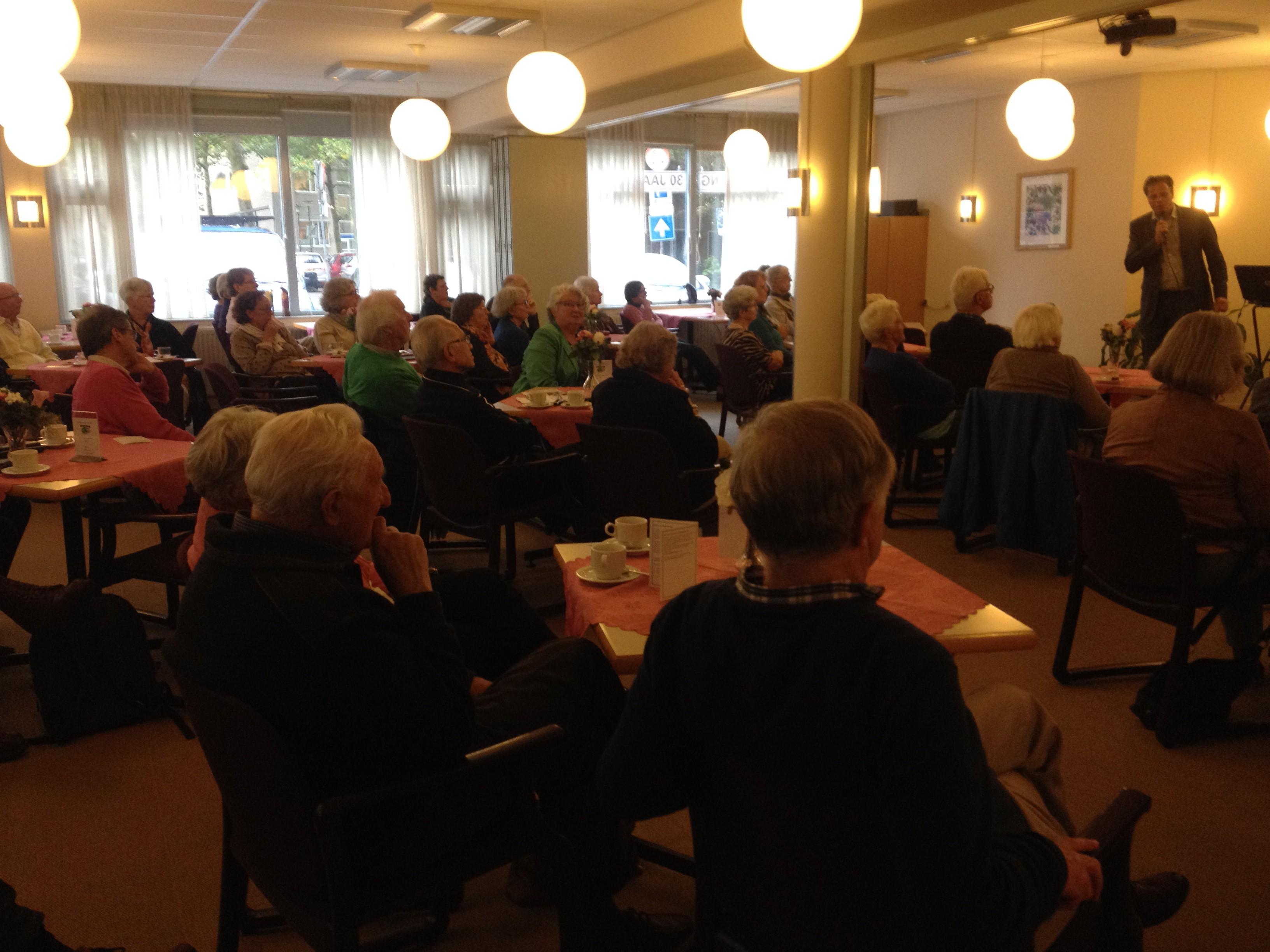 Paneldiscussie Wonen en Senioren
