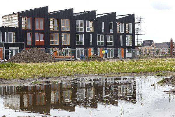 Geworteld Wonen in aanbouw