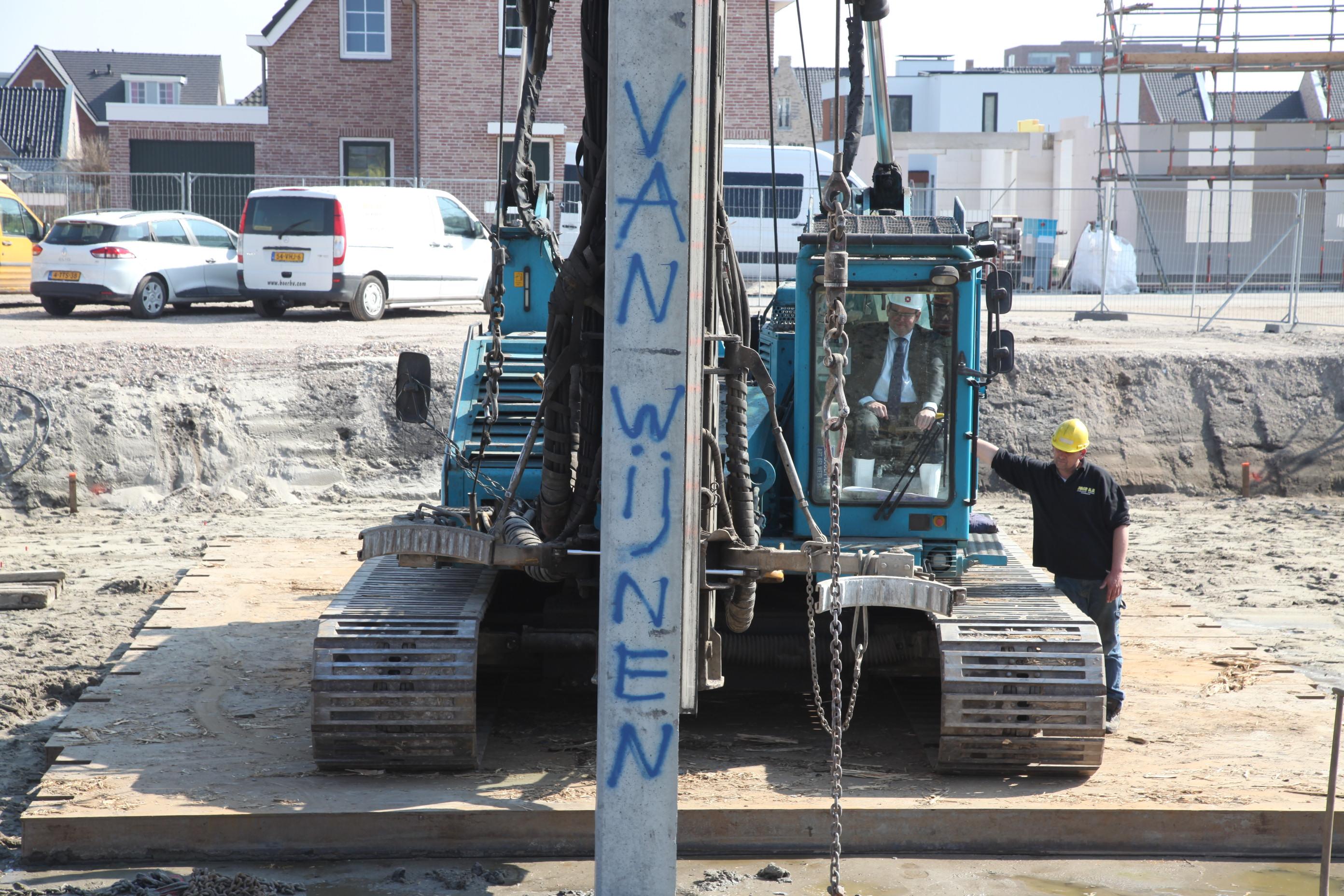 Start bouw derde fase Geworteld Wonen