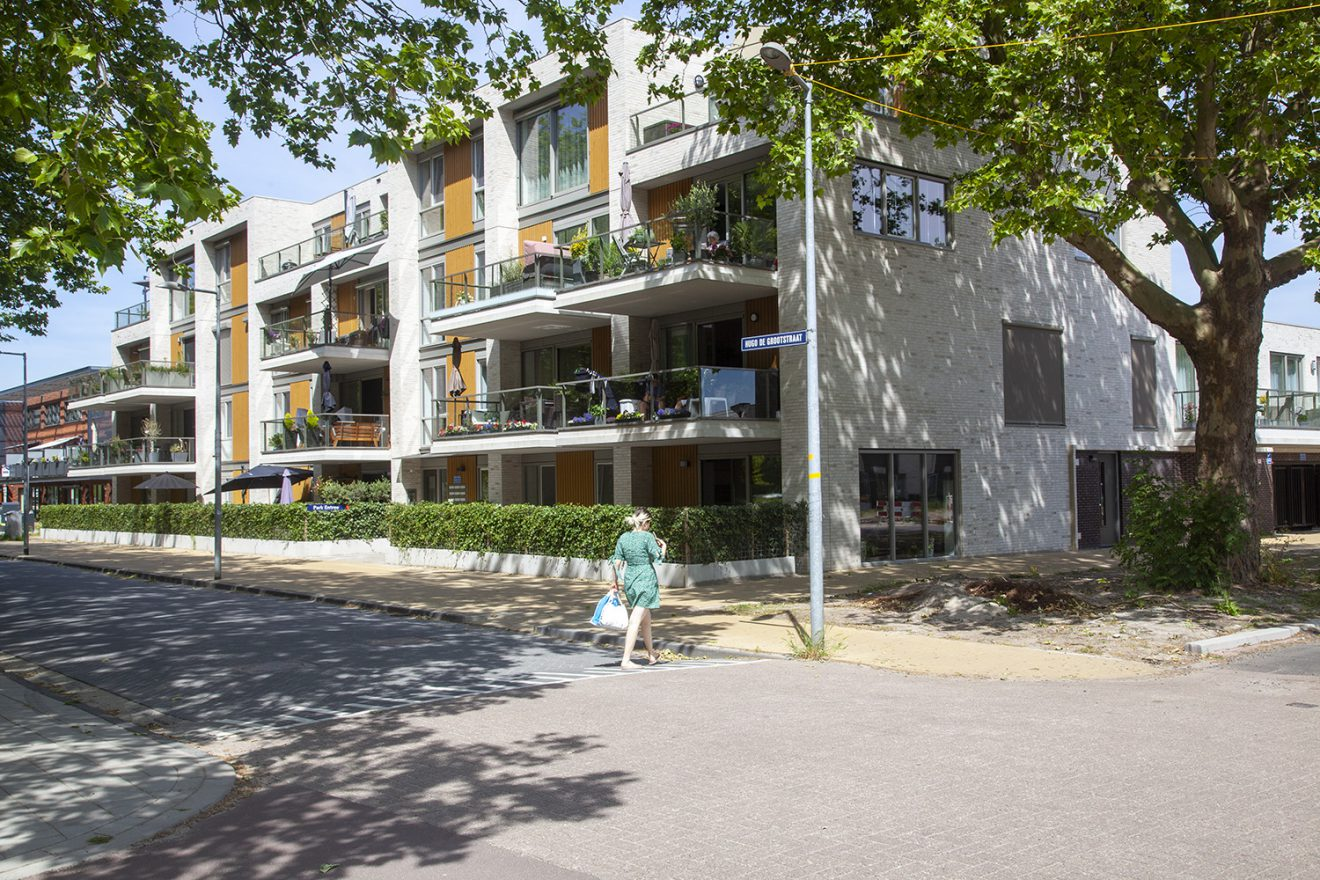 Een seniorenstad in Nederland